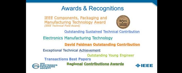 IEEE CPMT - Prestigious Awards & Recognitions